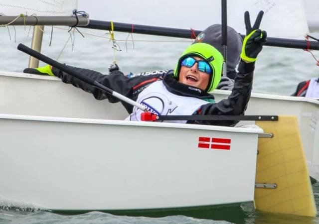 Justin Lucas of the Royal Cork and Tralee Bay Sailing Clubs
