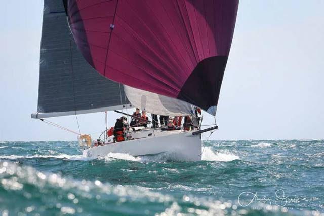 "The winner of class 1 at the Welsh IRC Championships was ""Spirit of Jacana"" a Carrickfergus based boat"