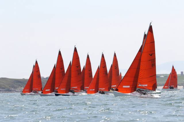 The turn out of Squibs at Killyleagh is likely to be impressive, with the fleet split between three sailmakers
