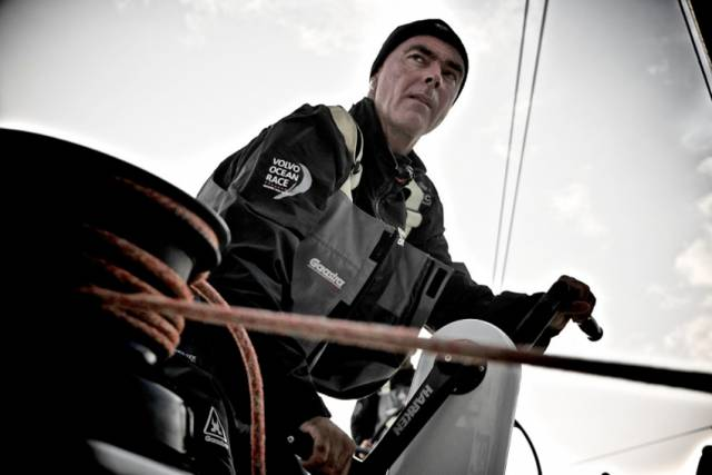 Bouwe Bekking returns as skipper with Dutch entry Team Brunel, which finished second in the last VOR