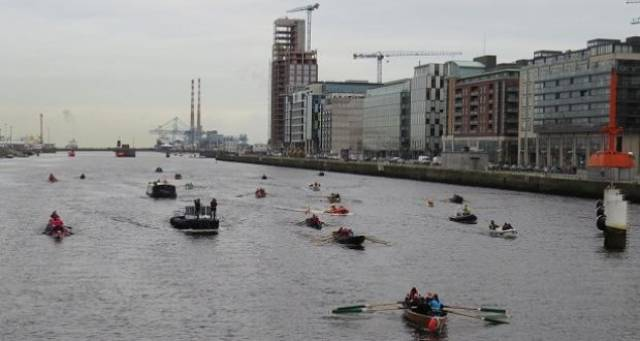 Mammoth Eight-Hour Rowing Challenge On River Liffey Will Raise Funds For Charities