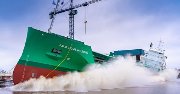 'Arrow' Brings to Five Arklow Newbuild Bulkers With One More to Follow Suit