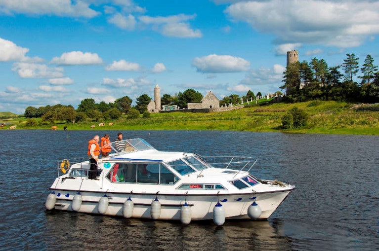 Boating on the Shannon is a major focus for tourism development