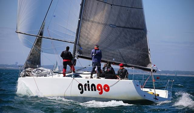 Gringo (Tony Fox) was third in cruisers one IRC handicap in tonight's DBSC race