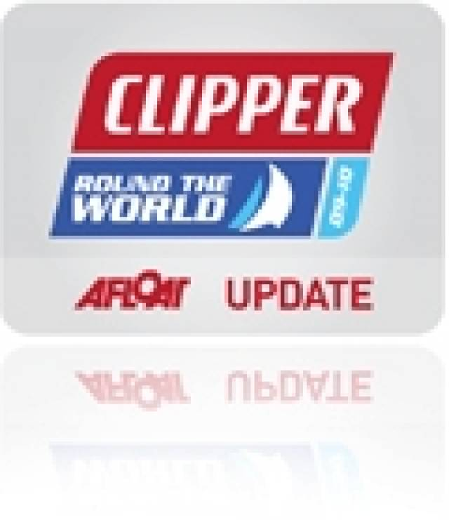 Clipper Teams Enjoy Respite from Strong Winds