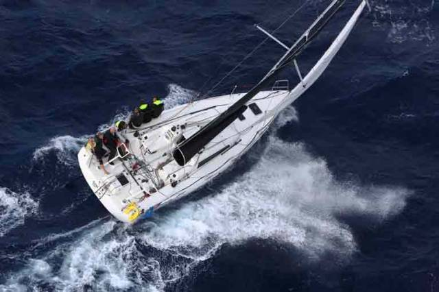 For the C600 this year, Fogerty took delivery of a North Sails 3Di offshore mainsail for BAM!