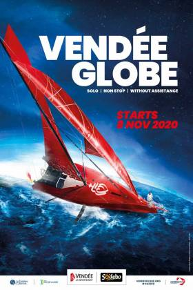 The new Vendee Globe poster