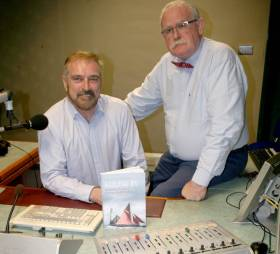 Taking the helm from Marcus (right) on the maritime programme on RTE Radio 1 commencing Friday 23rd June will be RTE Correspondent Fergal Keane