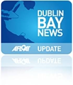 US Navy Dock Landing Ship Departs Dublin Bay's Shipping Scene