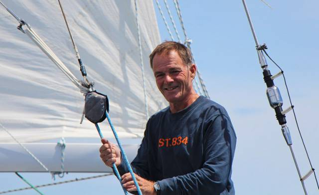 Finland's Tapio Lehtinen who has signed up to compete in both the 2022 Golden Globe Race and the 2023 Ocean Globe Race