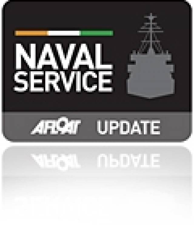 Deferred Delivery Date of Naval Service Lastest Newbuild OPV James Joyce