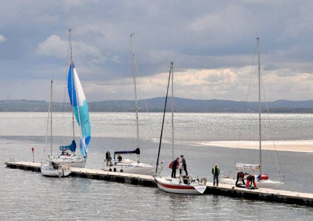 Rathmullan Marina in Co Donegal has been awarded its first ever Blue Flag for superior water quality