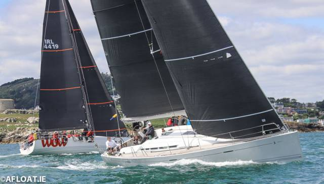 Mermaid Swims Back into the Lead in Volvo Dun Laoghaire IRC Coastal