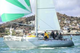 With a crew of friends and family very much in mind, Conor Fogerty's Silver Shamrock competes in the first ISORA race off Dalkey, County Dublin