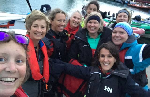 Women Take the Helm at the National Yacht Club
