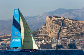 Ireland's Damian Foxall Leads in Volvo Ocean Race