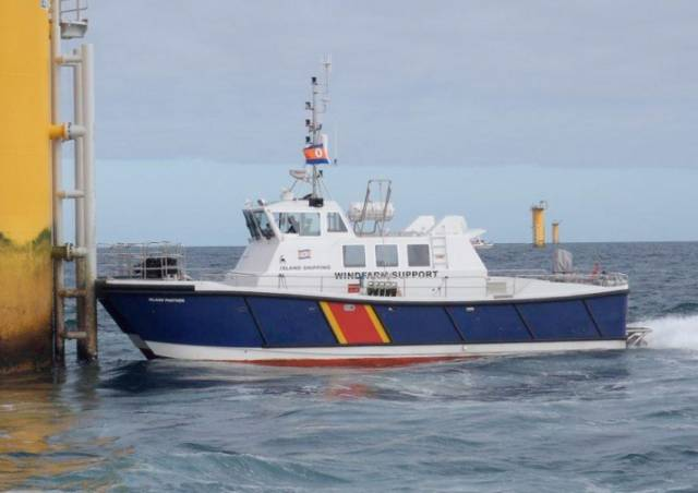 AMS Panther will be one of two vessels conducting hydrographic and geophysical surveys in the Irish Sea from next month
