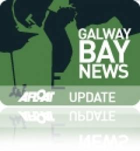 Windsurfer Caught Out by High Winds in Galway Bay
