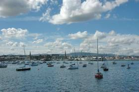 Dun Laoghaire Harbour's moorings require a new foreshore licence