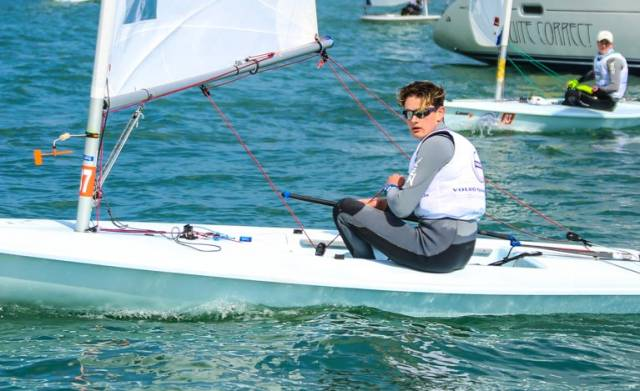 Irish Boys Youth Laser Radial Champion Jack Fahy survived a black flag in Pwllheli to book his Youth Worlds place this Summer