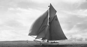 Tally Ho sailing circa 1912