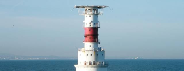 Cruiser racers will round the Kish Bank Lighthouse on Sunday 24 September
