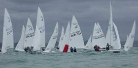 The National Yacht Club's Alan Green is crewing for GBR4004 Charles Apthorp, also an NYC member, and sit in sixth place overall after day one of the Flying Fifteen World Championships in New Zealand