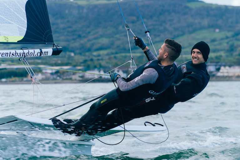 Northern Ireland Olympian Ryan Seaton Says New Slipway at Carrickfergus Sailing Club is a 'Game-Changer'