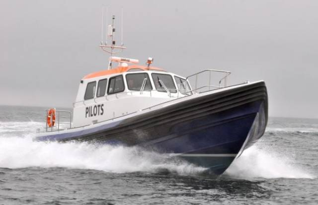 Two new Stormforce 1650s like one above are now in service in Belfast Harbour