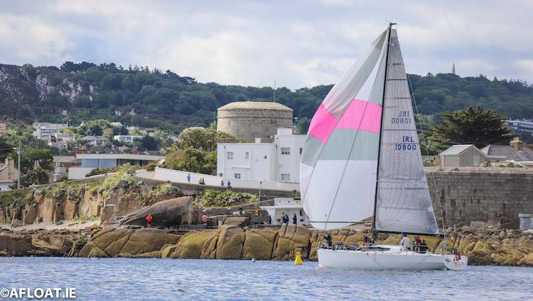 ICRA's 2019 Boat of the Year, Rockabill VI competing in this year's ISORA Series on Dublin Bay