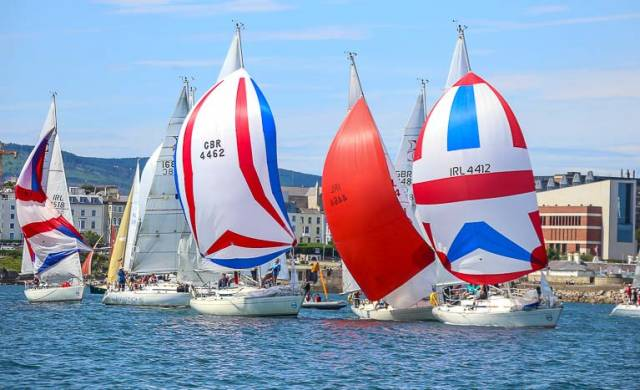 Following its class championships in Dun Laoghaire in June, the Sigma 33 class is expected to compete at Bangor Week in July