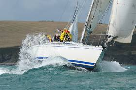 Kinsale Yacht Club's At Home' yesterday. Photo gallery below