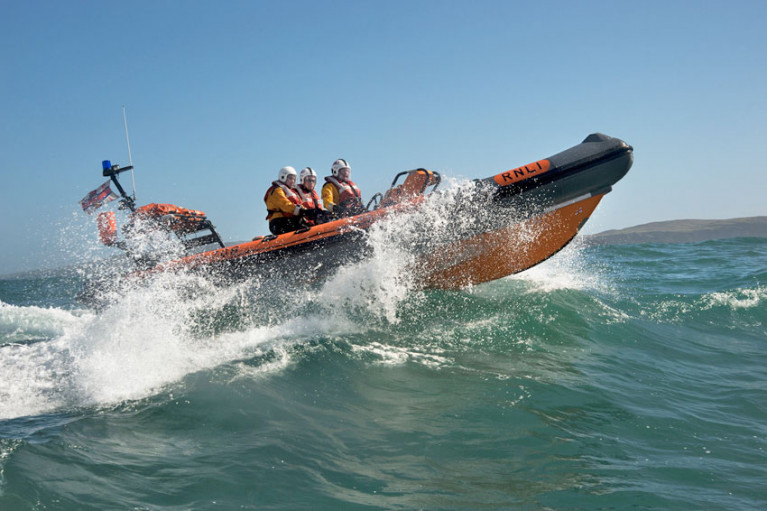 Baltimore RNLI's Atlantic 75 inshore lifeboat