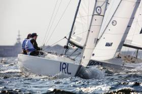 Ireland's Sonar crew competing in Rio