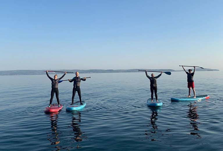 Standup Paddleboarding is Back on Belfast Lough