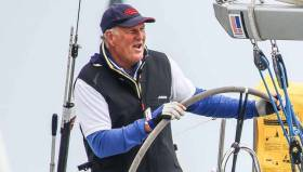 Mark Mansfield of Royal Cork Yacht Club is competing at the Warsash Series on the Solent
