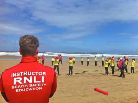 RNLI Lifeguards in Northern Ireland roll out educations programmes