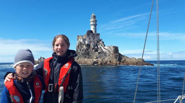 Galway Family Sail the Dream to the Jungle & Paradise Islands
