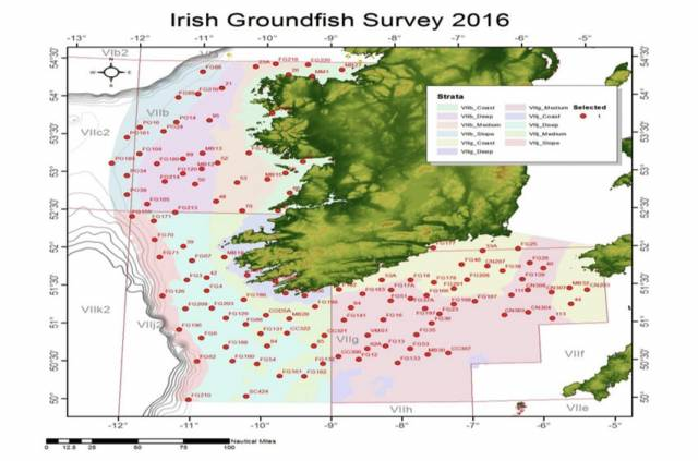 Marine Notice: Annual Groundfish Survey Off South & West Coasts