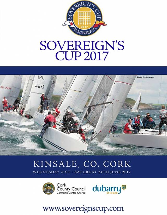 Sovereign's Cup in Kinsale runs from 21st-24th June 2017