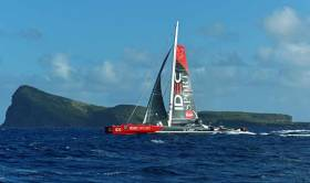 The Mauritius Route record is the first act in the new campaign of ocean records for IDEC