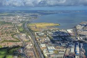 Belfast Lough's North Foreshore has been earmarked for a new film studio development