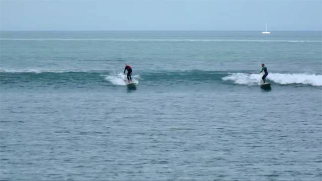Ireland's Longest Waves Make For Ferry Good Surfing In Dublin Bay