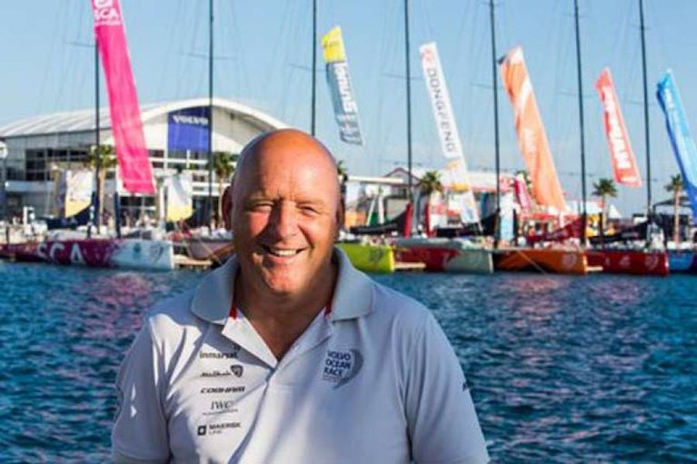 Bill O'Hara is Sailor of the Month (International) for January