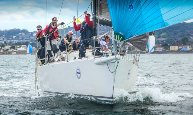 ISORA Night Race Line Honours IRC Overall & IRC Class 0 for Royal St. George's 'Aurelia'