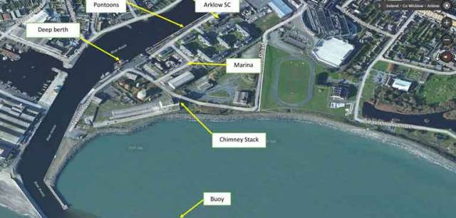 Arklow harbour in County Wicklow will welcome the ISORA offshore racing fleet for the first time on May 27