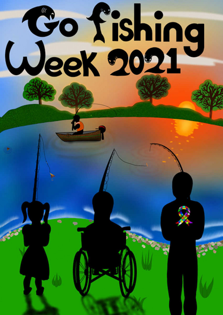 Poster for Go Fishing Week 2021 by Kole Burnett