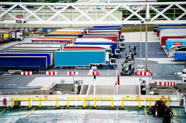 Peel Ports, a UK ports group, is calling on cargo owners, hauliers and others to look at two potential solutions to inevitable congestion at Dover (above) learning lessons from a model commonly used for Irish Sea freight and using capacity at ports across the country.