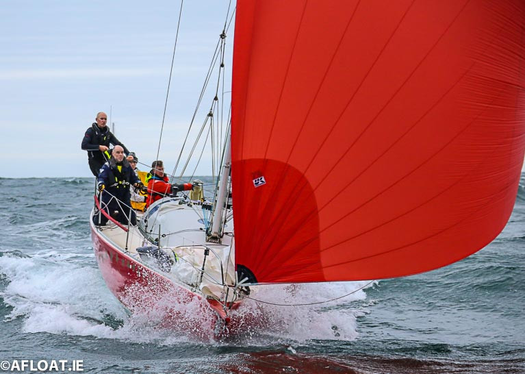 Red Alert - The Wicklow JOD 35 from Greystones is  entered into June 's Round Ireland Race