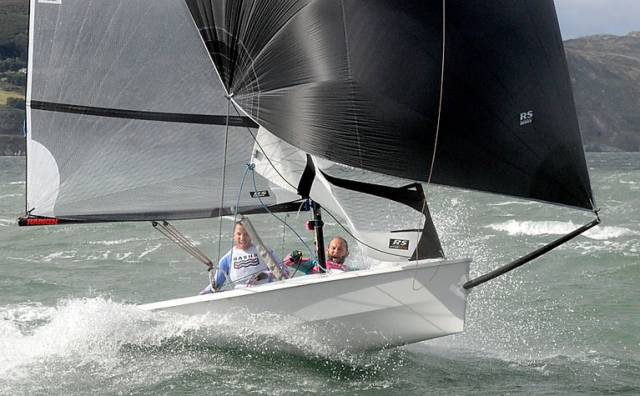 RS400s & RS200s In Action at Greystones Sailing Club